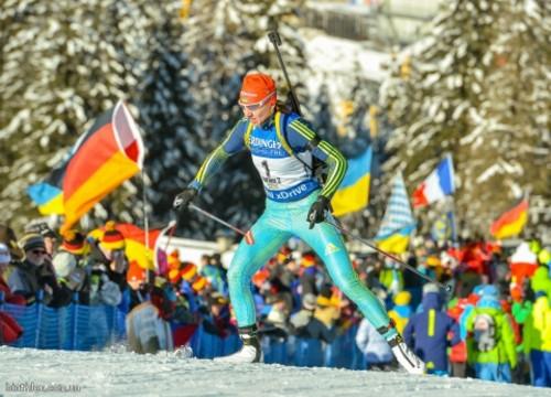 Сборная Украины выиграла «серебро» вэстафете Кубка мира побиатлону