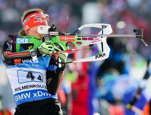Немецкая биатлонистка Дальмайер выиграла гонку преследования наэтапеКМ вСловении