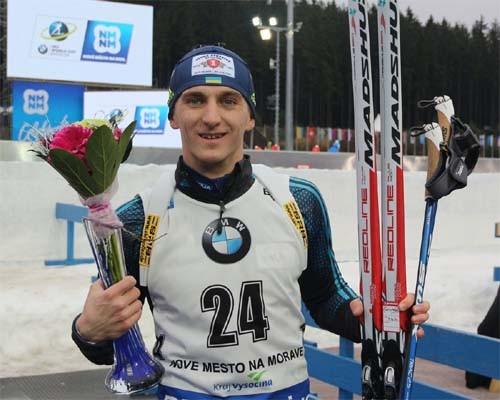 Кубок мира побиатлону: украинец остановился вшаге отпьедестала
