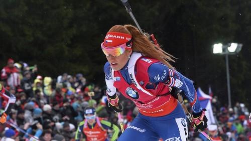 На 4-м этапе Кубка мира победу одержала биатлонистка изЧехии