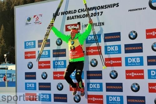 Дальмайер завоевала 3-е золото начемпионате мира вХохфильцене— Биатлон