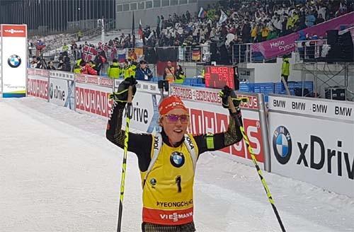 5-ая впоследней мужской эстафете Кубка мира побиатлону