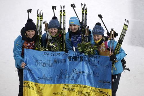 Мужская сборная Украины отправилась наэтап Кубка мира побиатлону